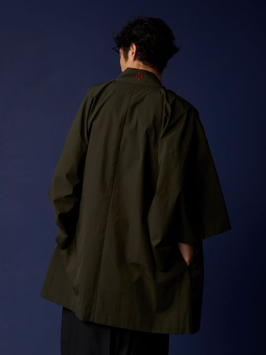 WAROBE / STAR WARS HAORI / DARK GREEN photo