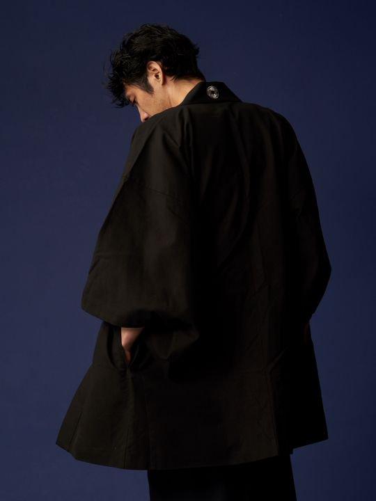 WAROBE / STAR WARS HAORI / BLACK photo