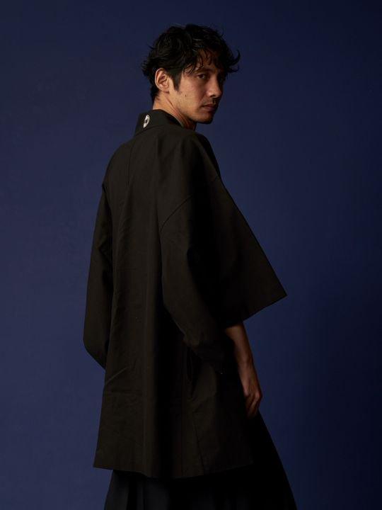 【 PRE-ORDER】WAROBE / STAR WARS HAORI / BLACK photo