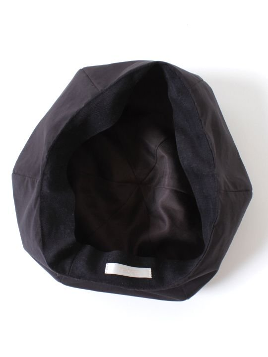 TROVE / AURA BERET / BLACK photo