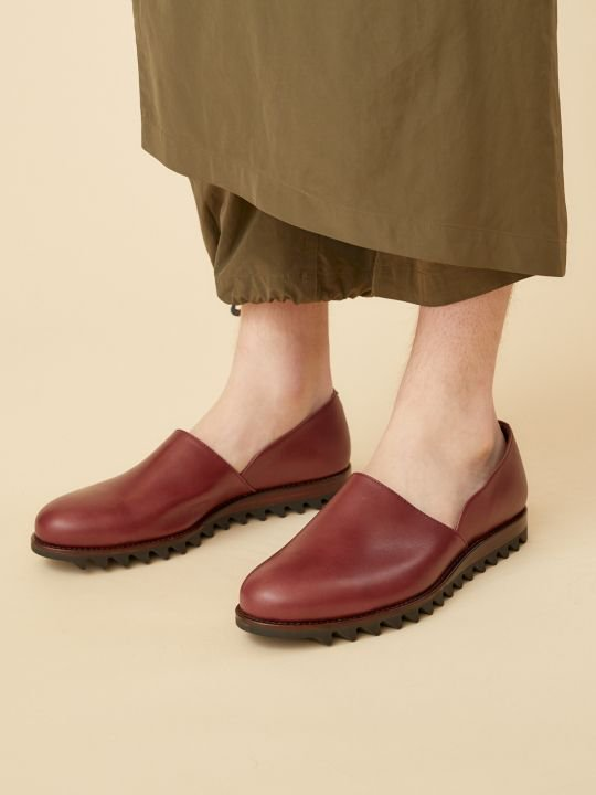 TROVE / PAINO LEATHER SHOES / BROWN photo