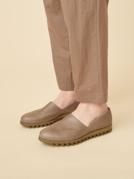TROVE / PAINO LEATHER SHOES / GRAY photo