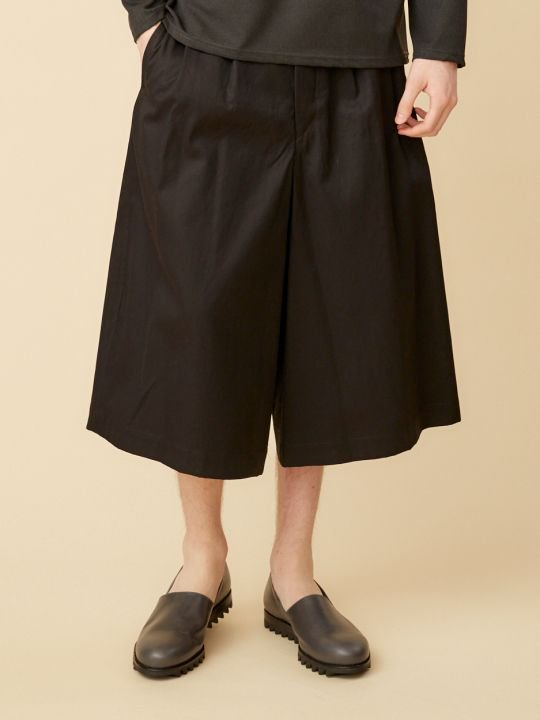 【予約商品】TROVE / MATKA WIDE PANTS / BLACK photo