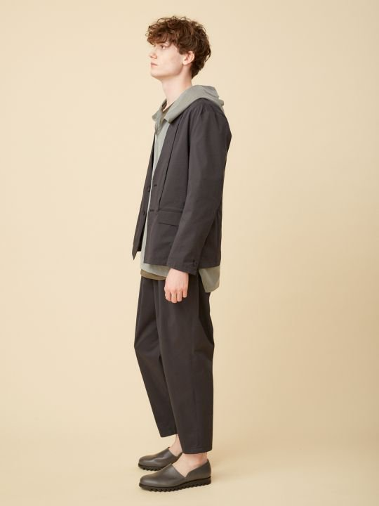 TROVE / VIILEA WIDE PANTS / BLACK photo