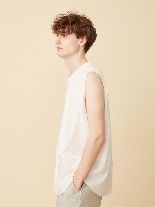 TROVE / JASEN TANK / WHITE photo