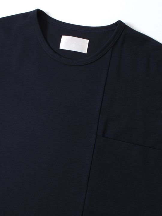 TROVE / WIDE POCKET TEE / NAVY photo