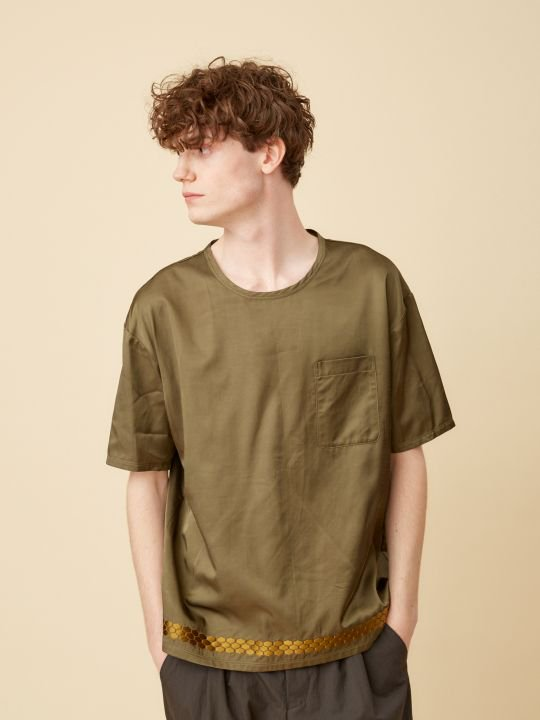 TROVE / KUVIO TEE / KHAKI photo