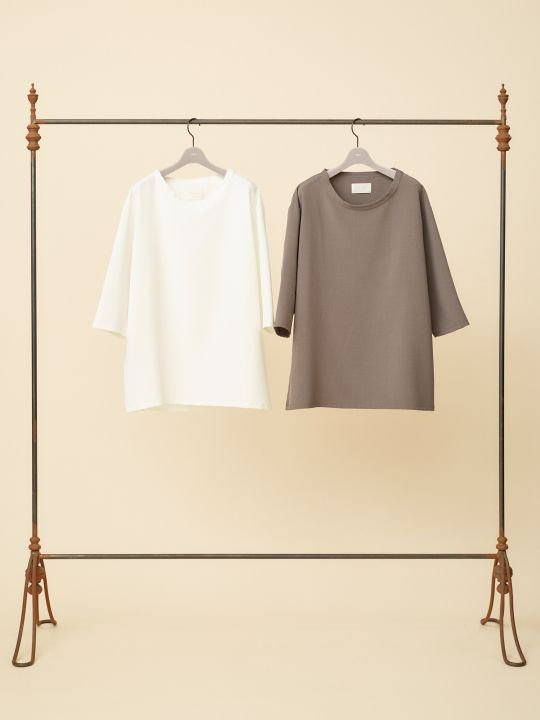 TROVE / VALO 7 SLEEVE TEE / WHITE photo