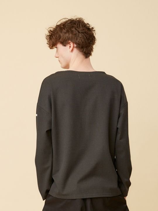 TROVE / LAIVA LONG SLEEVE / BLACK photo