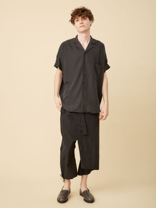 【予約商品】TROVE / VALO WIDE SHIRT / BLACK photo