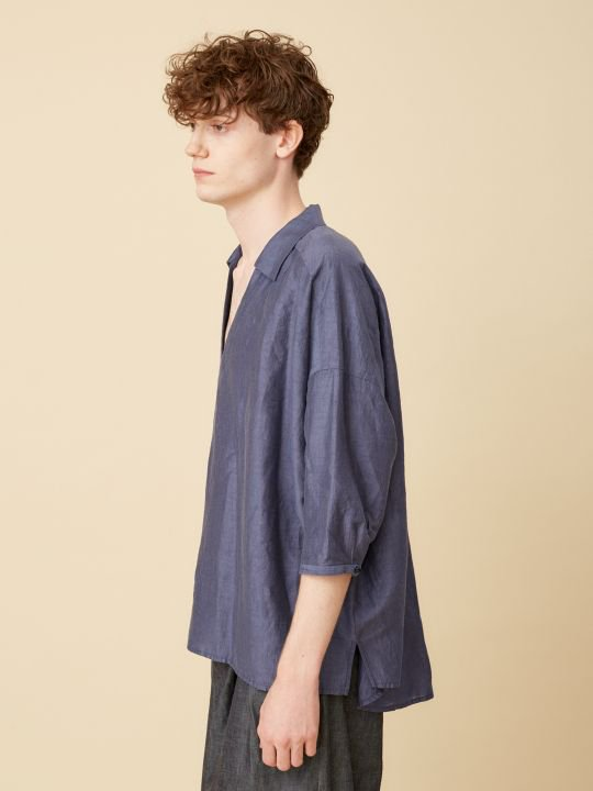 TROVE / WIND PULLOVER SHIRT / NAVY photo