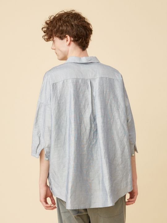TROVE / WIND PULLOVER SHIRT / LIGHT BLUE photo