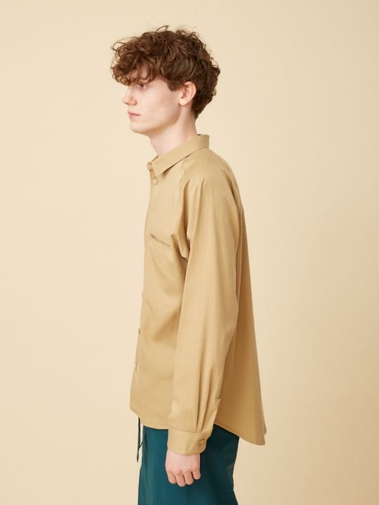 TROVE / INSIDE SHIRT ( RELAX ) / BEIGE photo