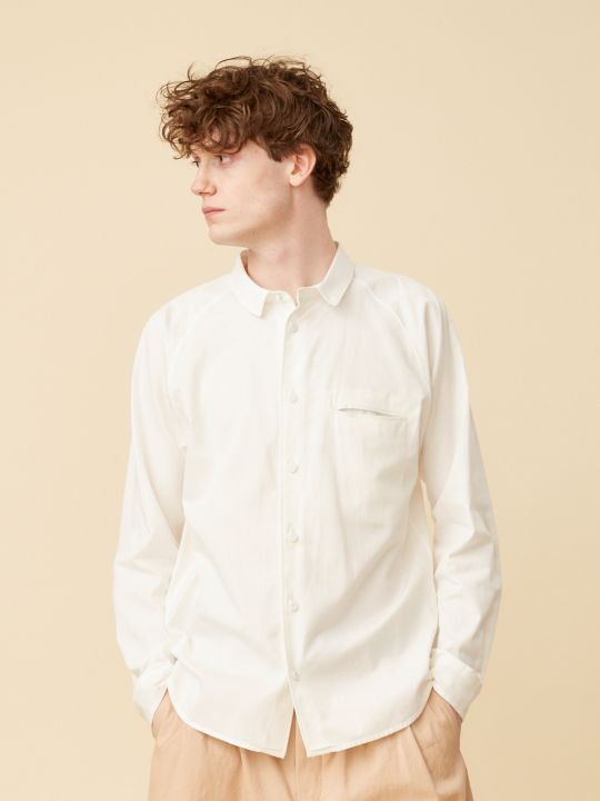 TROVE / INSIDE SHIRT ( RELAX ) / WHITE photo