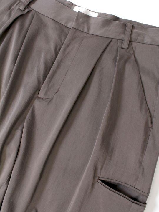 【予約商品】TROVE / MOOLI CARGO PANTS / GRAY photo