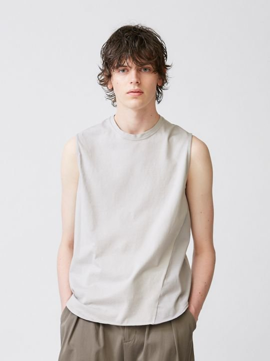 【予約商品】TROVE / ALLA TANK TOP / LIGHT GRAY photo