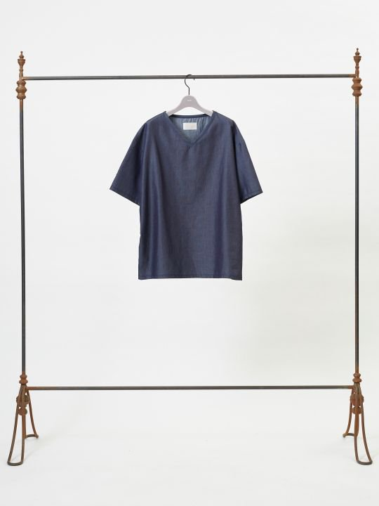 【予約商品】TROVE / SYVA V-NECK / INDIGO photo