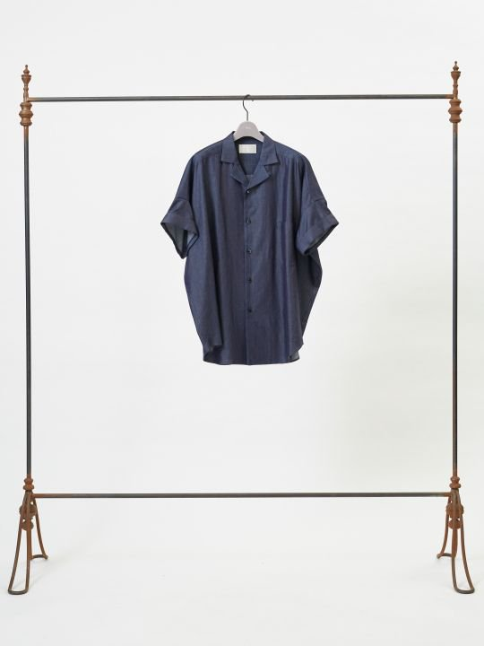 【予約商品】TROVE / SYVA WIDE SHIRT / INDIGO photo