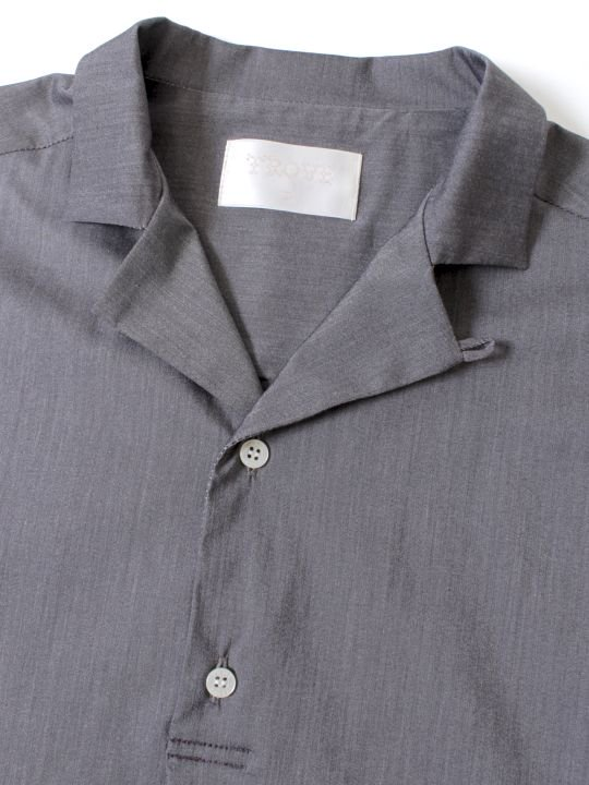 【予約商品】TROVE / VALO PULLOVER SHIRT / GRAY photo