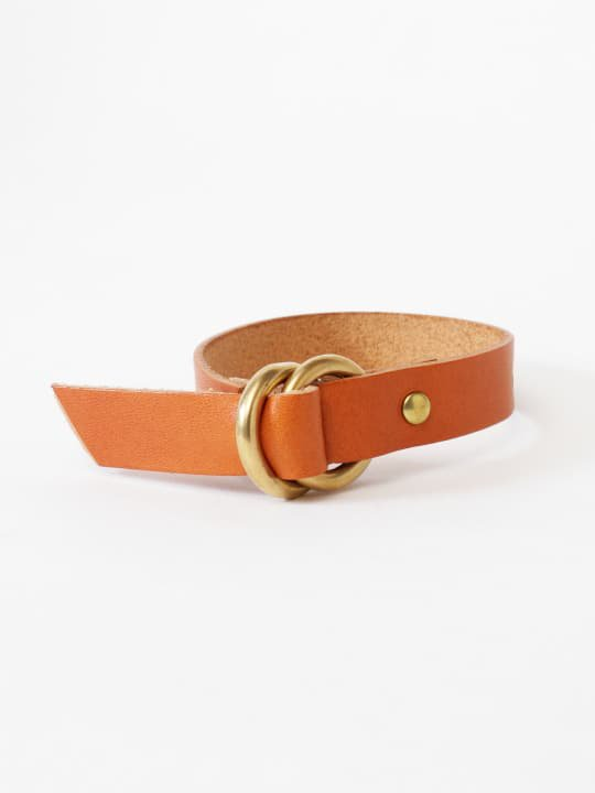 BRITANNIA LEATHERS / RING BRACELET / CAMEL photo