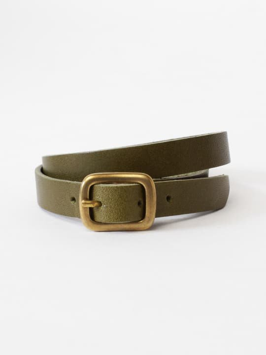 BRITANNIA LEATHERS / DOUBLE BRACELET / OLIVE photo