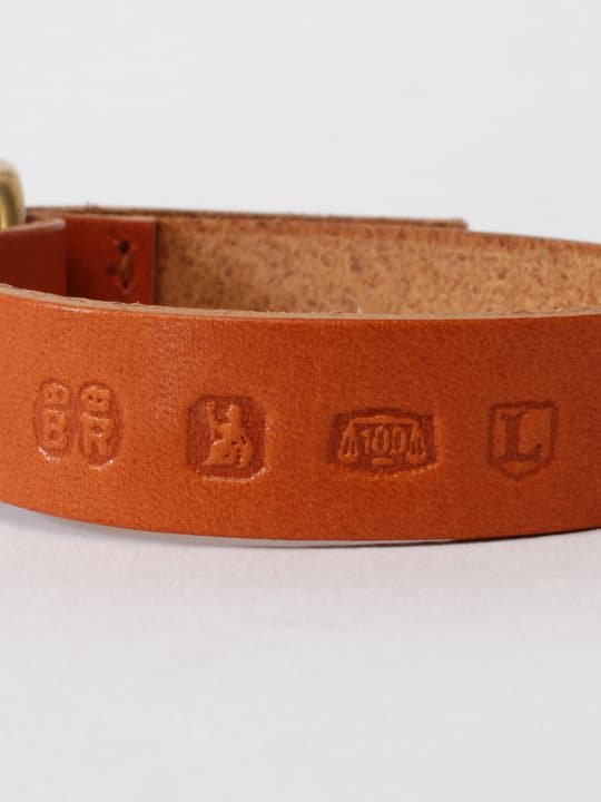 BRITANNIA LEATHERS / DOUBLE BRACELET / CAMEL photo