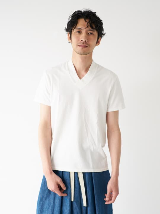 和ROBE / JUBAN TEE / WHITE photo