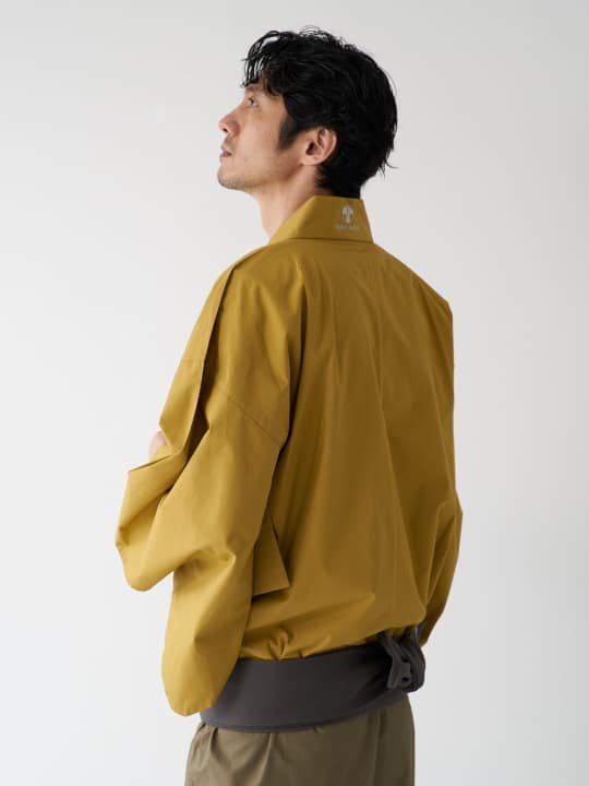 和ROBE / BI-COLOR YUKATA / MUSTARD x OLIVE photo