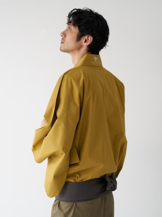【予約商品】和ROBE / BI-COLOR YUKATA / MUSTARD x OLIVE photo