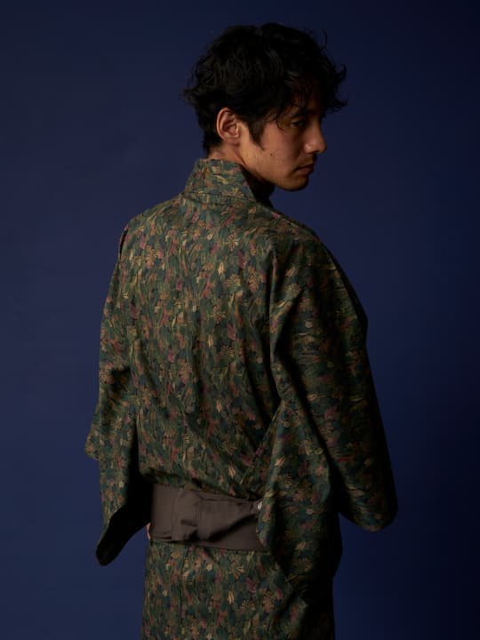 【予約商品】和ROBE / LIBERTY YUKATA / GREEN photo