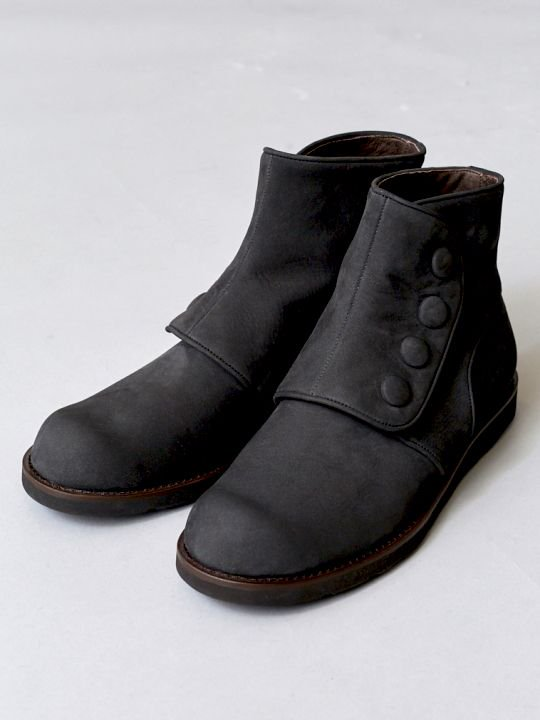 TROVE / POROMIES BOOTS ( NUBUCK LEATHER ) / CHARCOAL photo