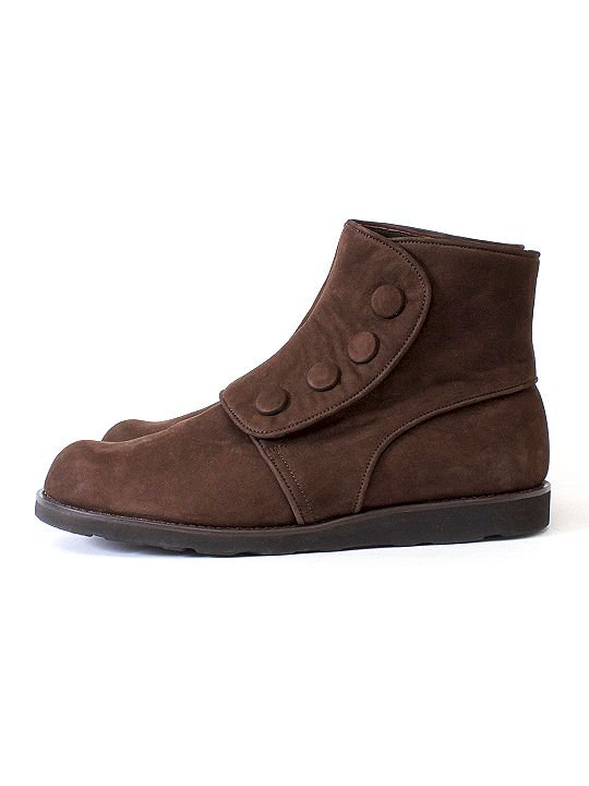 TROVE / POROMIES BOOTS ( NUBUCK LEATHER ) / DARK BROWN photo
