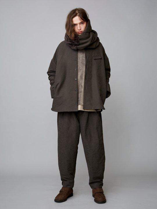 TROVE / MOOLI WIDE PANTS / CHARCOAL photo