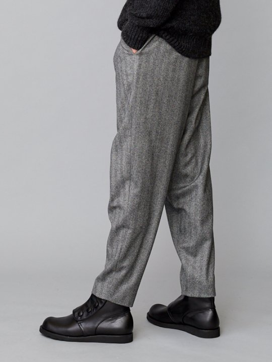 TROVE / RUOHO PANTS / GRAY HERRINGBONE photo