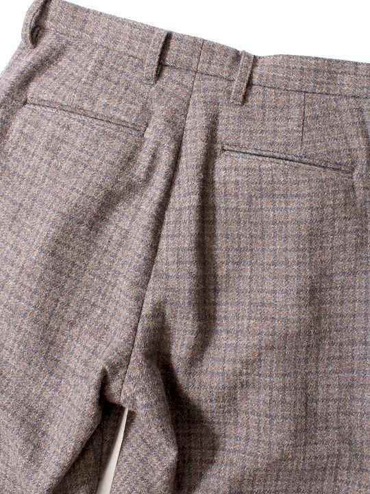 TROVE / RUUTUKA PANTS / GRAY BEIGE photo