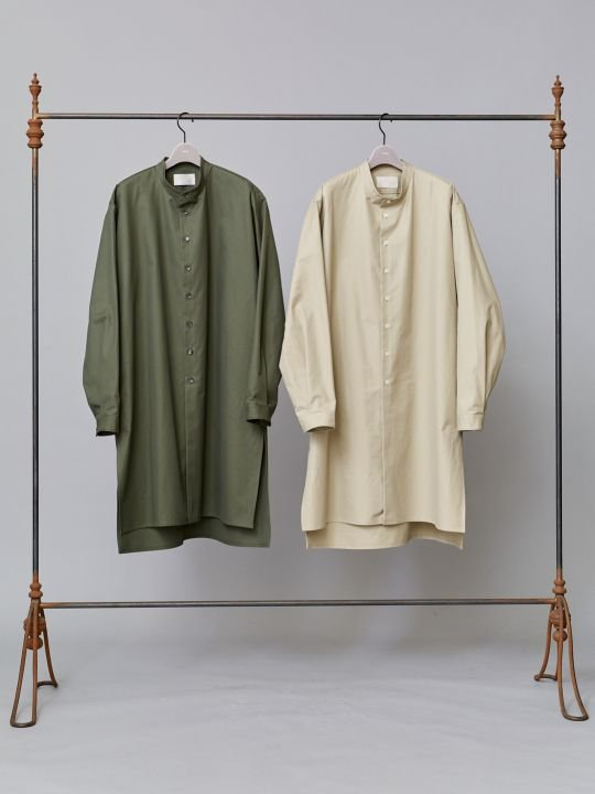 TROVE / DECADENCE LONG SHIRT / KHAKI photo