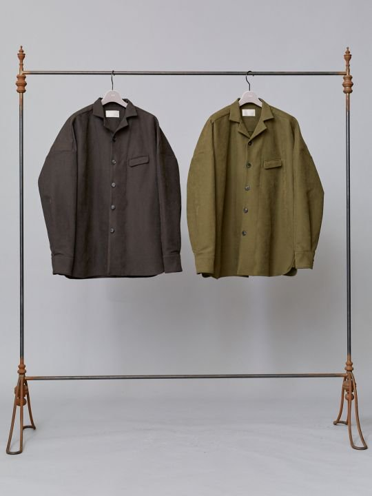 TROVE / MOOLI BLOUSON / CHARCOAL photo