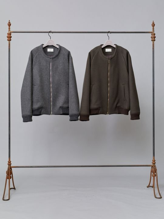 TROVE / POROMIES BLOUSON / OLIVE photo