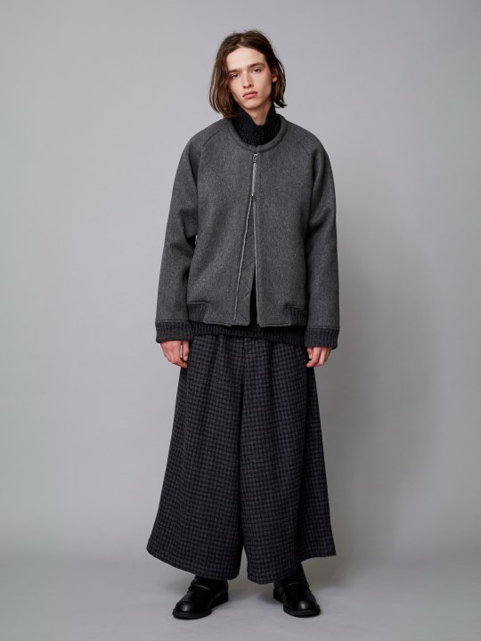 TROVE / POROMIES BLOUSON / CHARCOAL GRAY photo