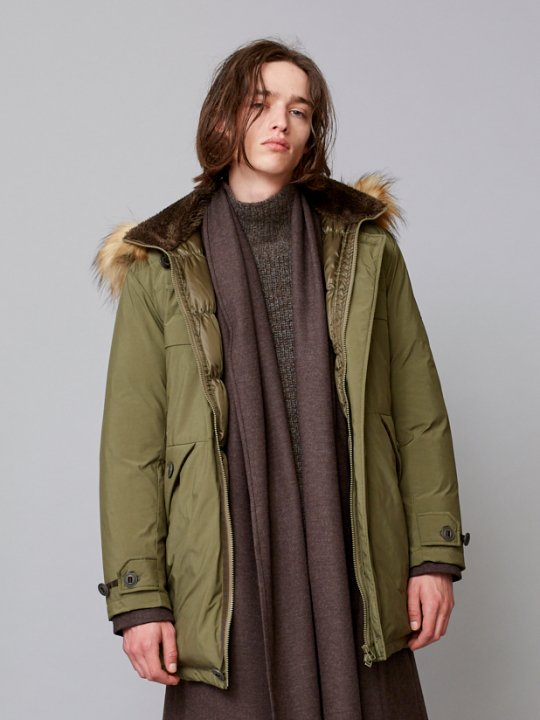 TROVE / ALAS DOWN COAT / KHAKI photo