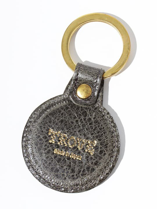 TROVE / SULKA LEATHER KEY HOLDER ( SHOP LIMITED ) / KHAKI photo