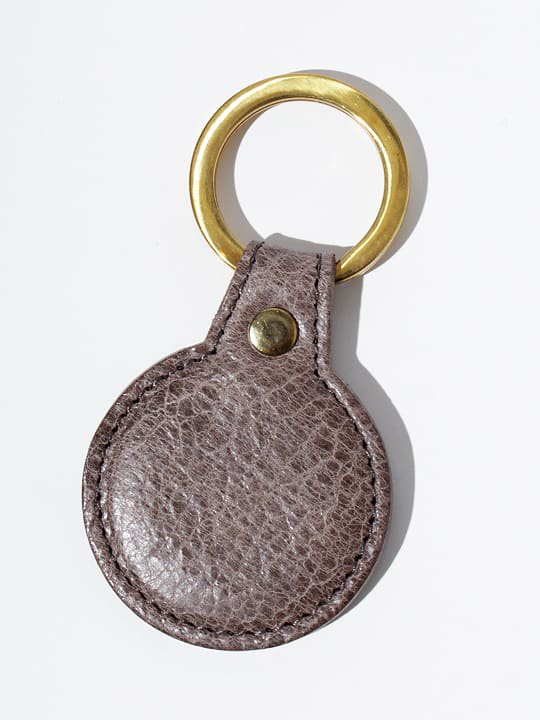 TROVE / SULKA LEATHER KEY HOLDER ( SHOP LIMITED ) / GRAY photo