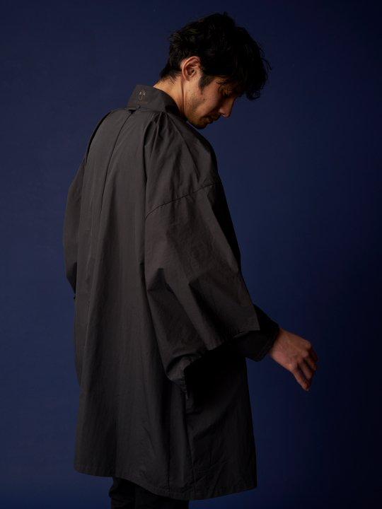 WAROBE / NYLON HAORI / BLACK photo