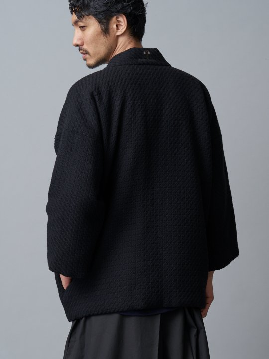 WAROBE / WOOL DOTERA / BLACK photo