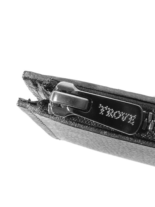 【予約商品】TROVE / SULKA LEATHER WALLET ( MINI ) / GRAY photo