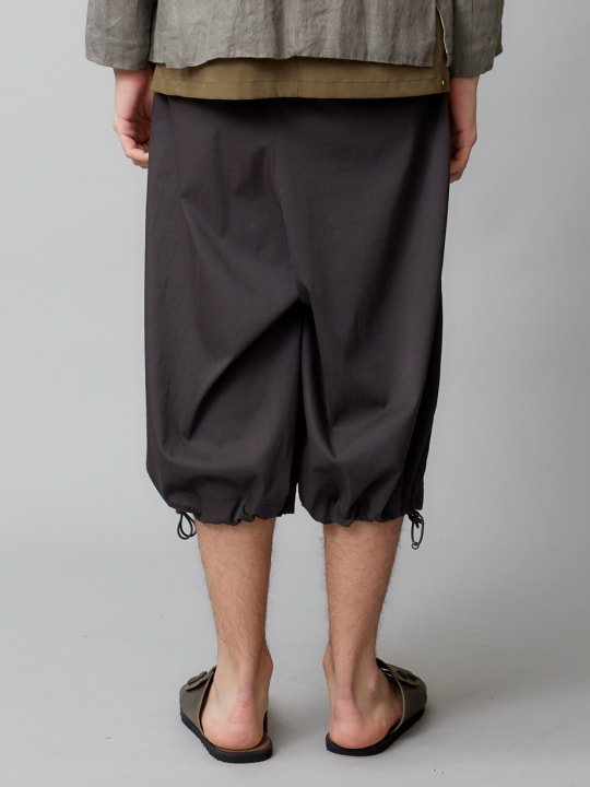 【予約商品】TROVE / AURA WIDE PANTS / CHARCOAL photo