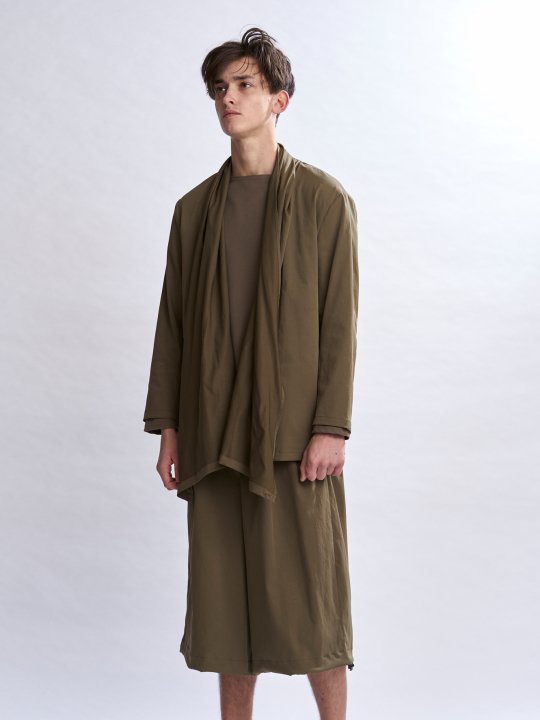 TROVE / AURA WIDE PANTS / KHAKI photo