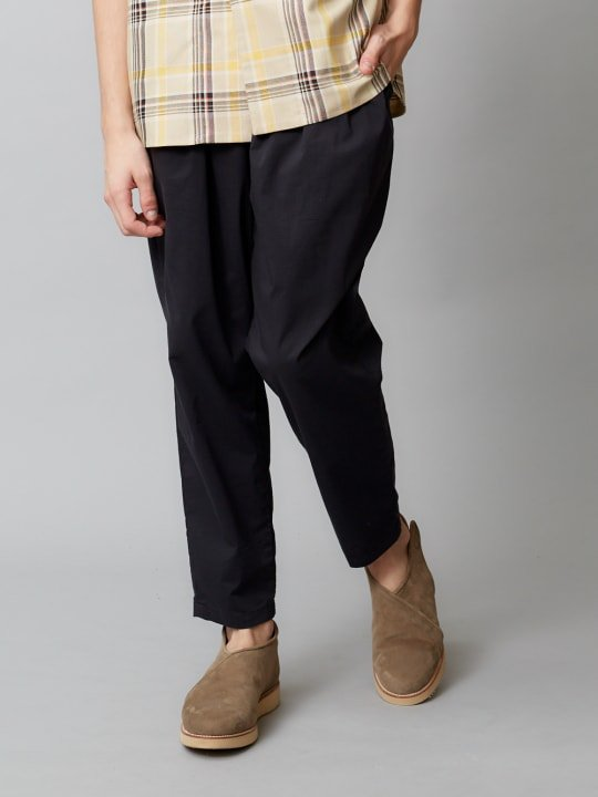 【予約商品】TROVE / VIILEA PANTS ( NEW TEX ) / BLACK photo