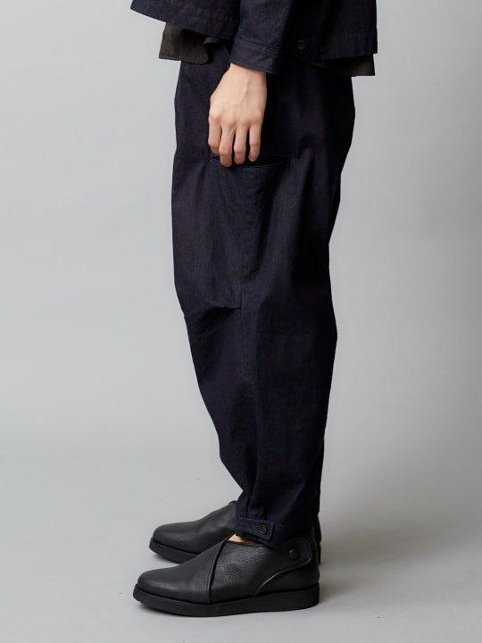 【予約商品】TROVE / KOVA WIDE CARGO PANTS / INDUGO photo