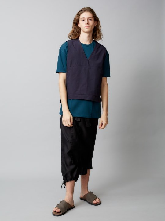 【予約商品】TROVE / WIDE POCKET TEE / BLUE GREEN photo